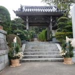山門の門松